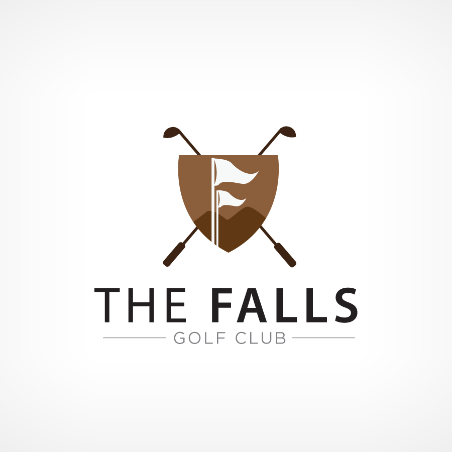 Logo Design by Edward Goodwin - Entry No. 78 in the Logo Design Contest The Falls Golf Club Logo Design.