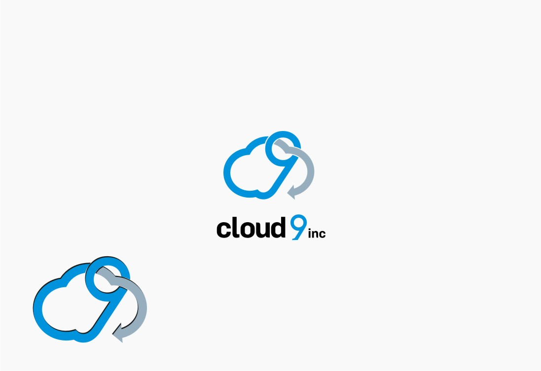 Logo Design by graphicleaf - Entry No. 12 in the Logo Design Contest Unique Logo Design Wanted for Cloud 9 Inc.
