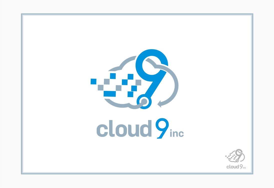 Logo Design by graphicleaf - Entry No. 13 in the Logo Design Contest Unique Logo Design Wanted for Cloud 9 Inc.