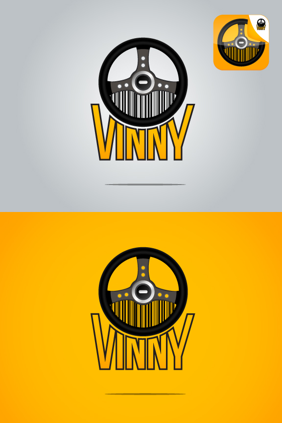 Logo Design by Top Elite - Entry No. 36 in the Logo Design Contest Unique Logo Design Wanted for Vinny.