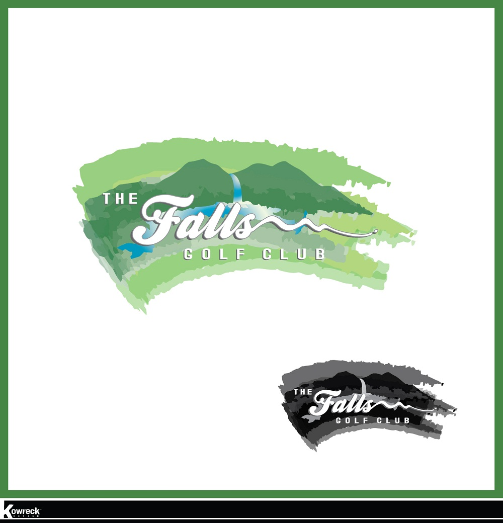 Logo Design by kowreck - Entry No. 80 in the Logo Design Contest The Falls Golf Club Logo Design.