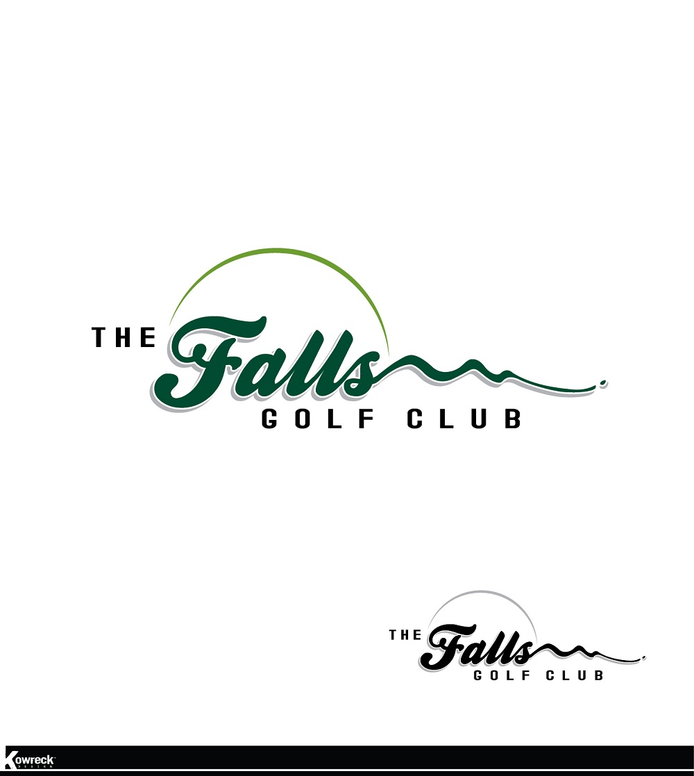 Logo Design by kowreck - Entry No. 82 in the Logo Design Contest The Falls Golf Club Logo Design.