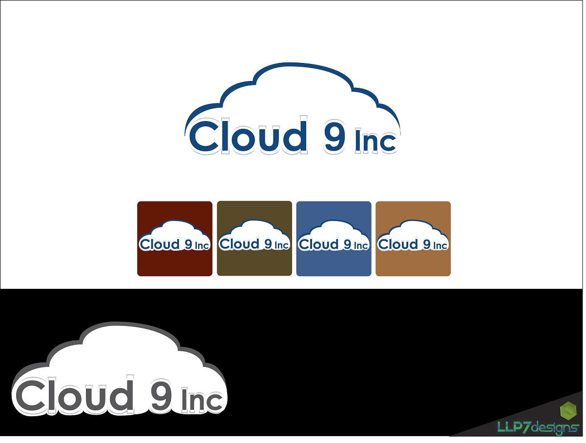 Logo Design by LLP7 - Entry No. 17 in the Logo Design Contest Unique Logo Design Wanted for Cloud 9 Inc.