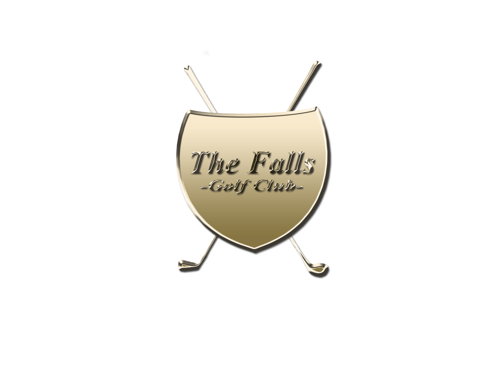 Logo Design by Mythos Designs - Entry No. 88 in the Logo Design Contest The Falls Golf Club Logo Design.