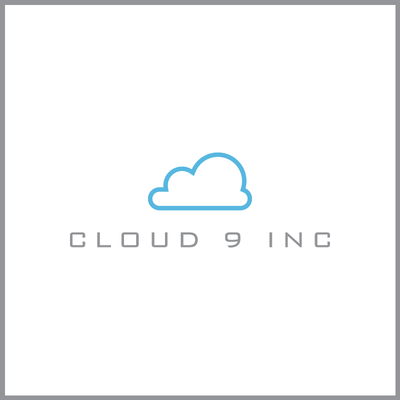 Logo Design by Number-Eight-Design - Entry No. 20 in the Logo Design Contest Unique Logo Design Wanted for Cloud 9 Inc.