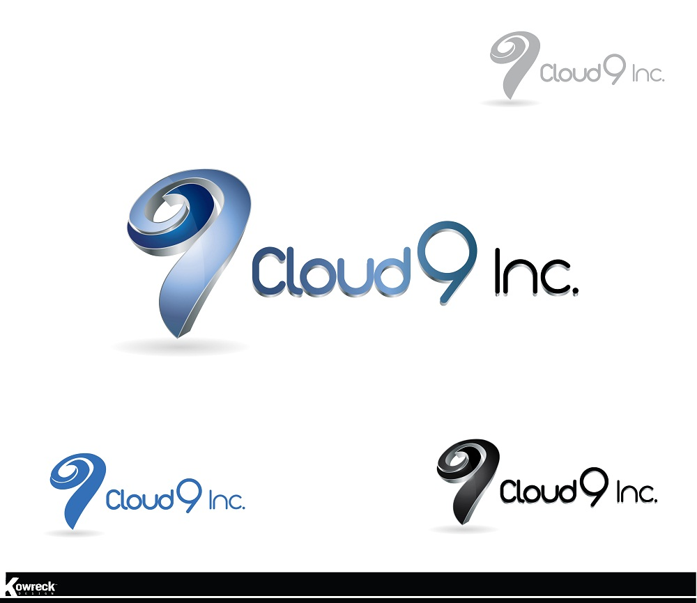 Logo Design by kowreck - Entry No. 24 in the Logo Design Contest Unique Logo Design Wanted for Cloud 9 Inc.