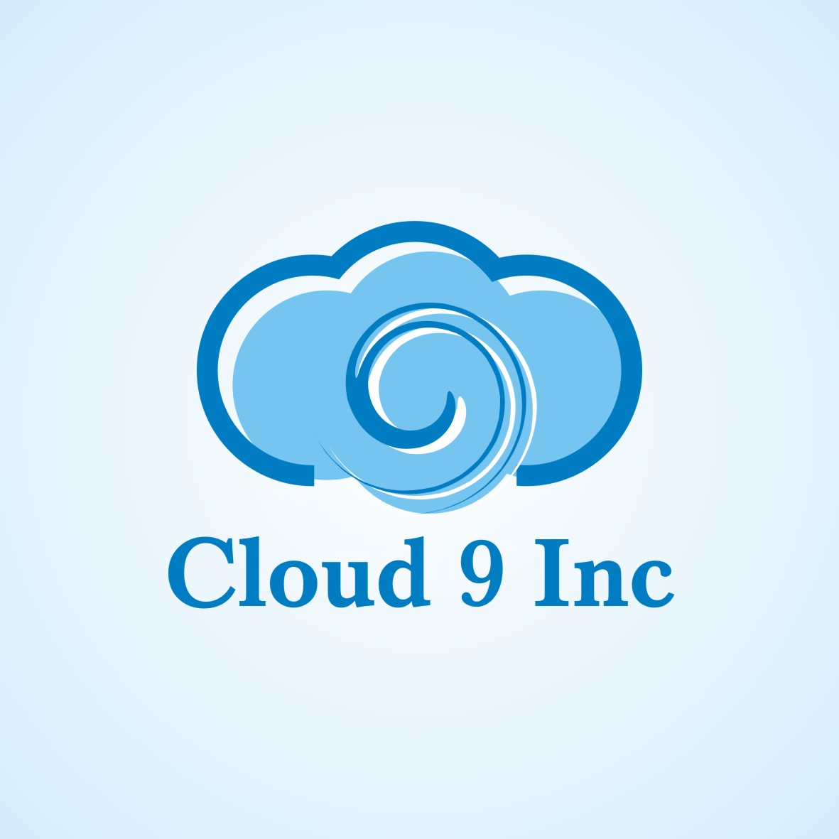 Logo Design by arteo_design - Entry No. 27 in the Logo Design Contest Unique Logo Design Wanted for Cloud 9 Inc.