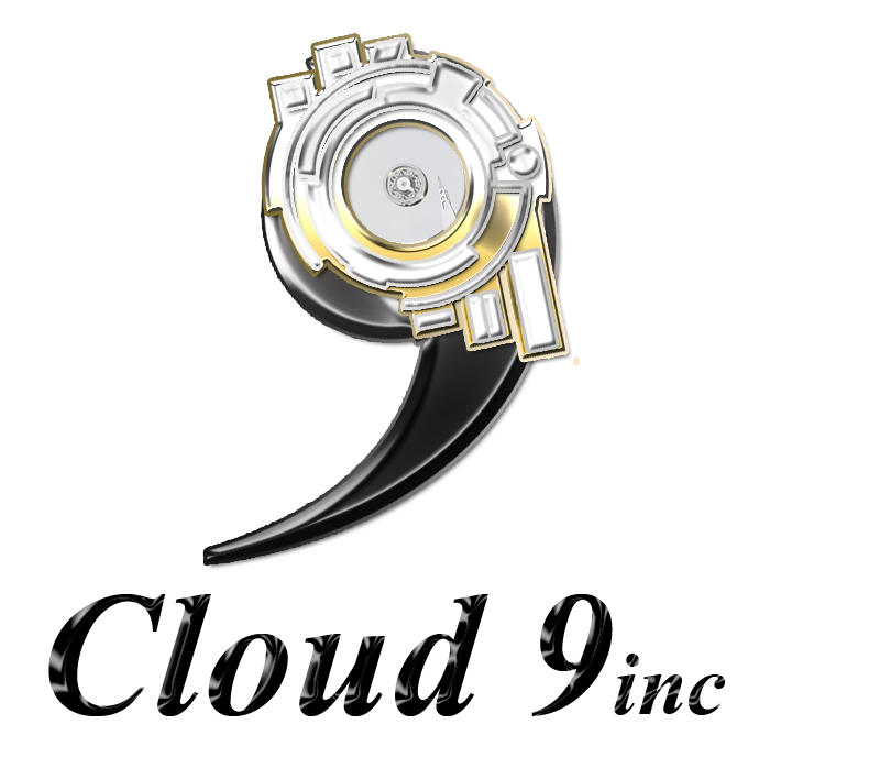 Logo Design by Mythos Designs - Entry No. 31 in the Logo Design Contest Unique Logo Design Wanted for Cloud 9 Inc.