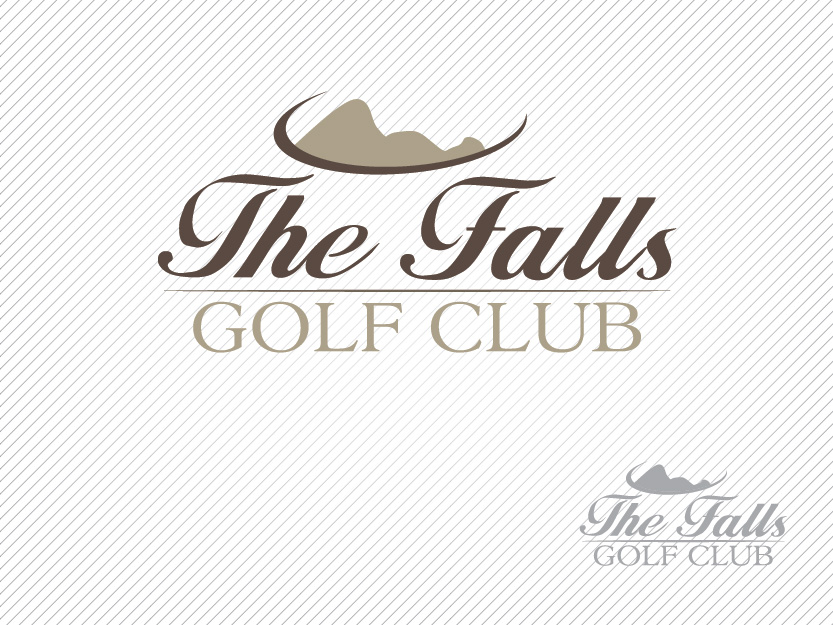 Logo Design by Private User - Entry No. 92 in the Logo Design Contest The Falls Golf Club Logo Design.