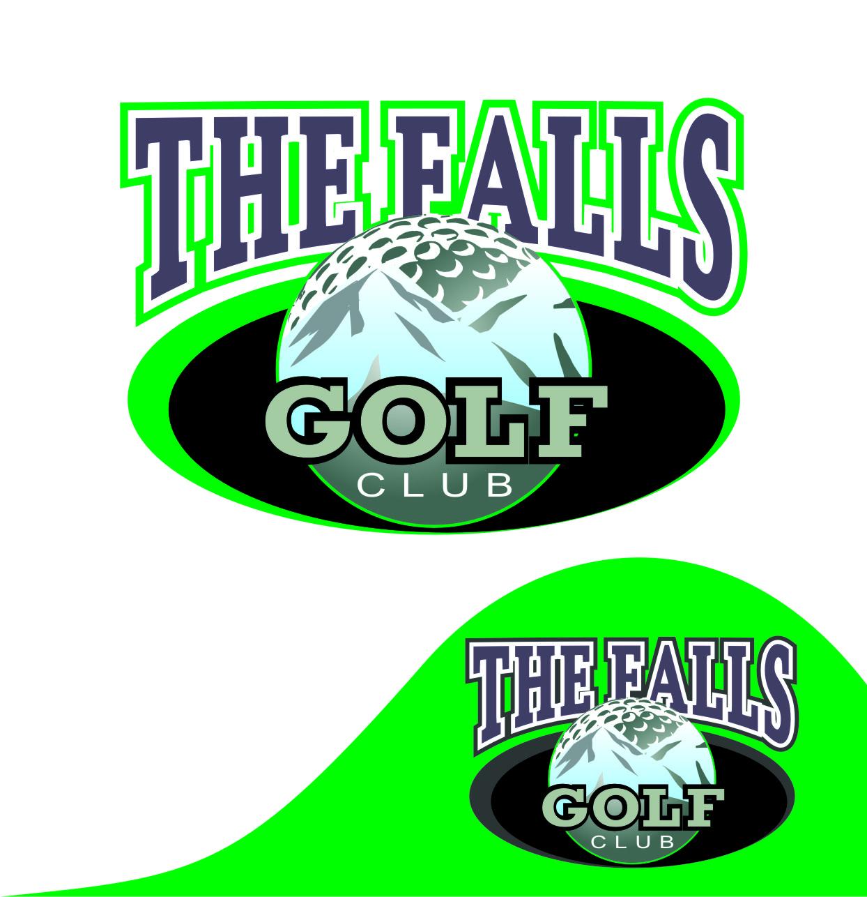 Logo Design by Private User - Entry No. 94 in the Logo Design Contest The Falls Golf Club Logo Design.