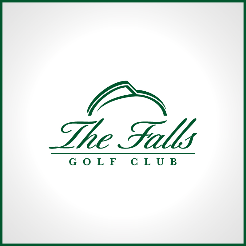 Logo Design by Number-Eight-Design - Entry No. 95 in the Logo Design Contest The Falls Golf Club Logo Design.