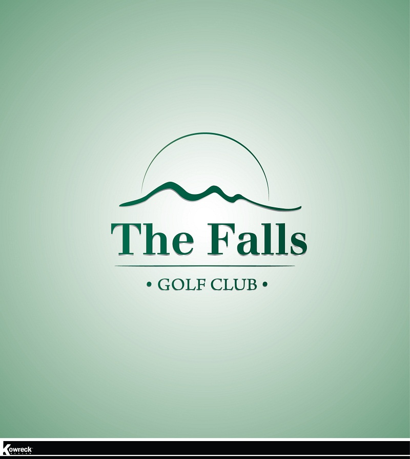 Logo Design by kowreck - Entry No. 100 in the Logo Design Contest The Falls Golf Club Logo Design.