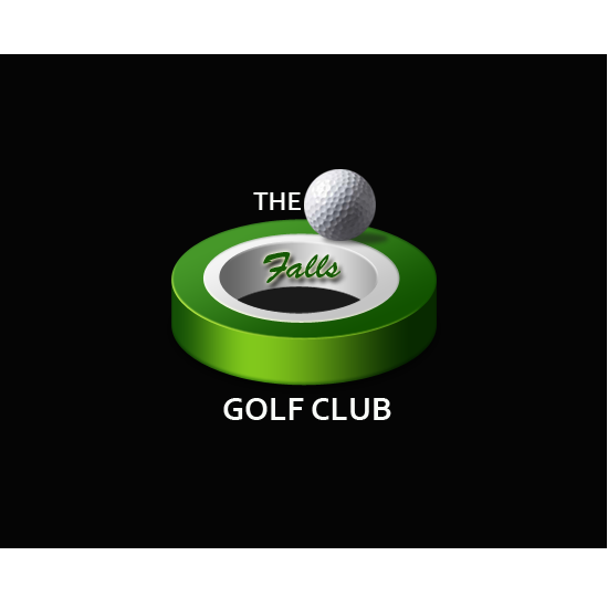 Logo Design by Private User - Entry No. 102 in the Logo Design Contest The Falls Golf Club Logo Design.