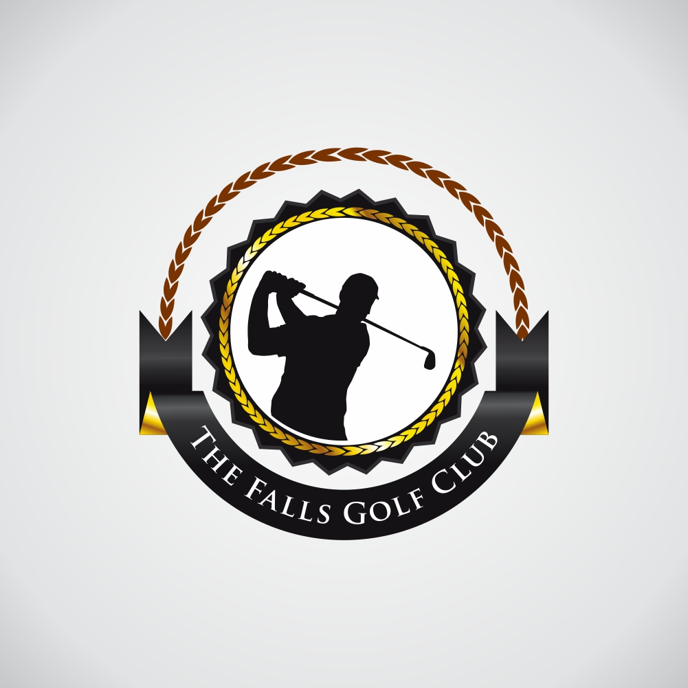 Logo Design by Roni Tresnawan - Entry No. 105 in the Logo Design Contest The Falls Golf Club Logo Design.
