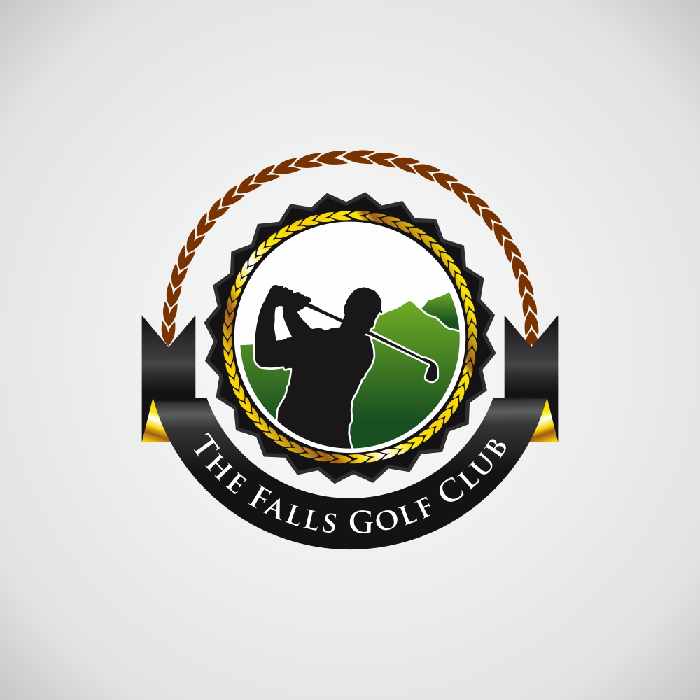 Logo Design by Roni Tresnawan - Entry No. 106 in the Logo Design Contest The Falls Golf Club Logo Design.
