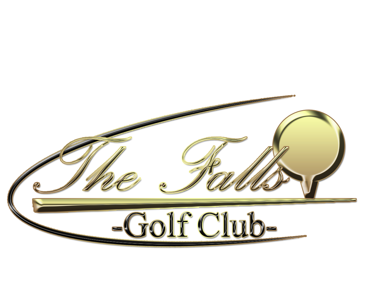 Logo Design by Mythos Designs - Entry No. 110 in the Logo Design Contest The Falls Golf Club Logo Design.