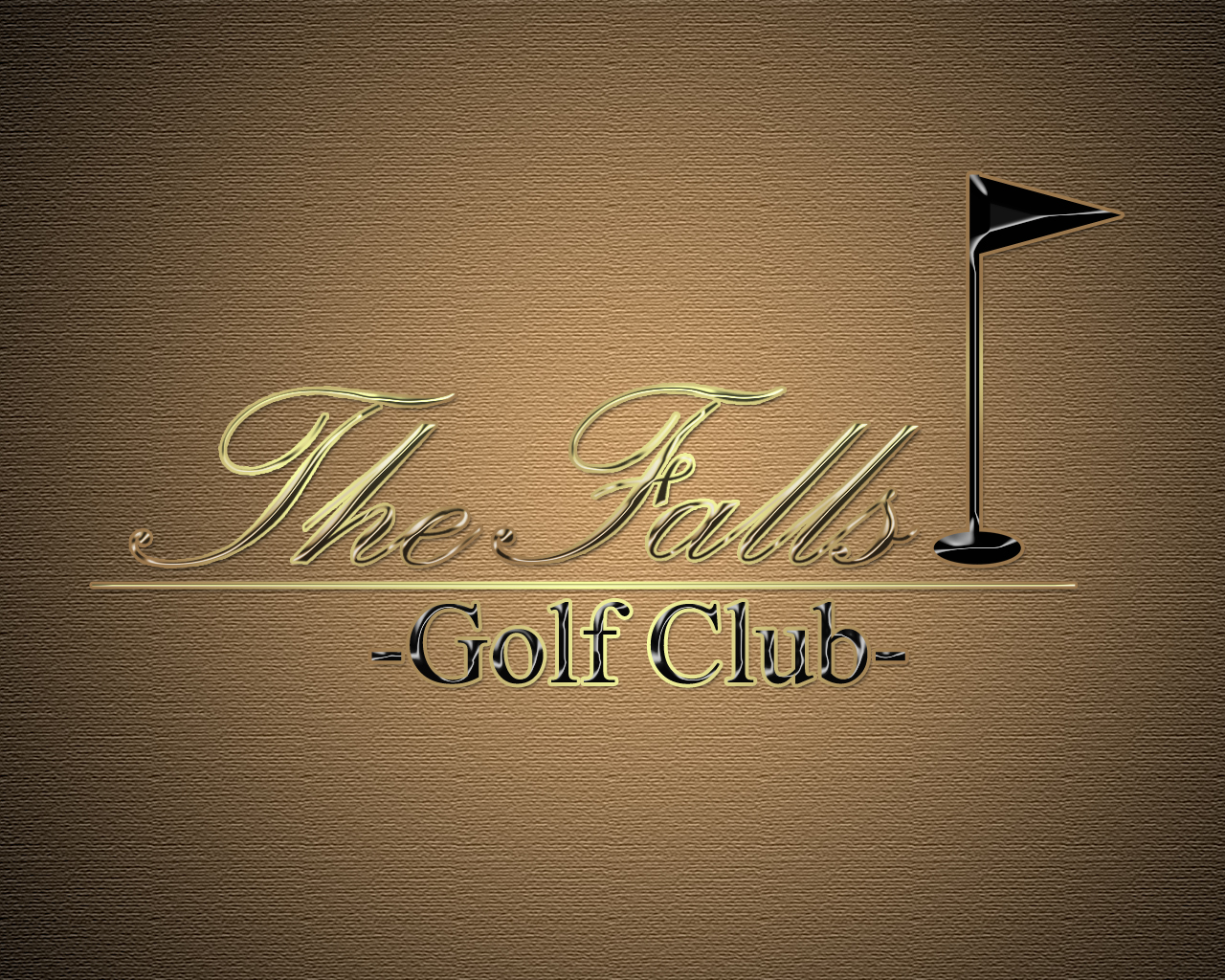 Logo Design by Mythos Designs - Entry No. 113 in the Logo Design Contest The Falls Golf Club Logo Design.