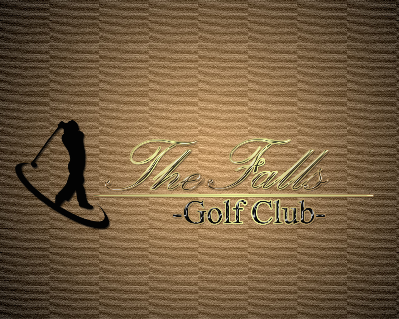 Logo Design by Mythos Designs - Entry No. 114 in the Logo Design Contest The Falls Golf Club Logo Design.