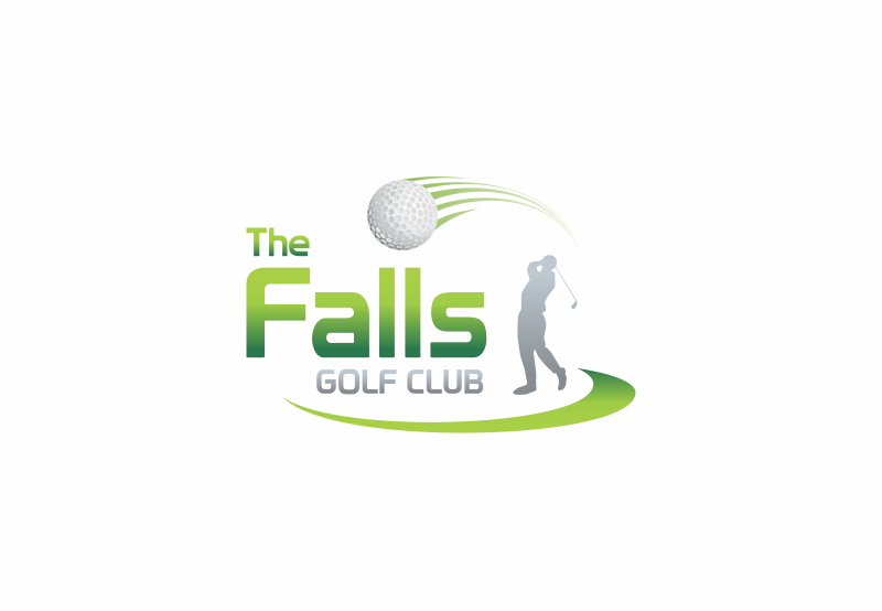Logo Design by Private User - Entry No. 115 in the Logo Design Contest The Falls Golf Club Logo Design.