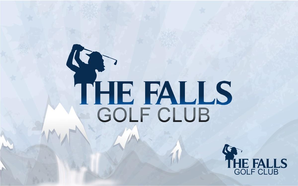 Logo Design by Eric White Origami Associates - Entry No. 121 in the Logo Design Contest The Falls Golf Club Logo Design.