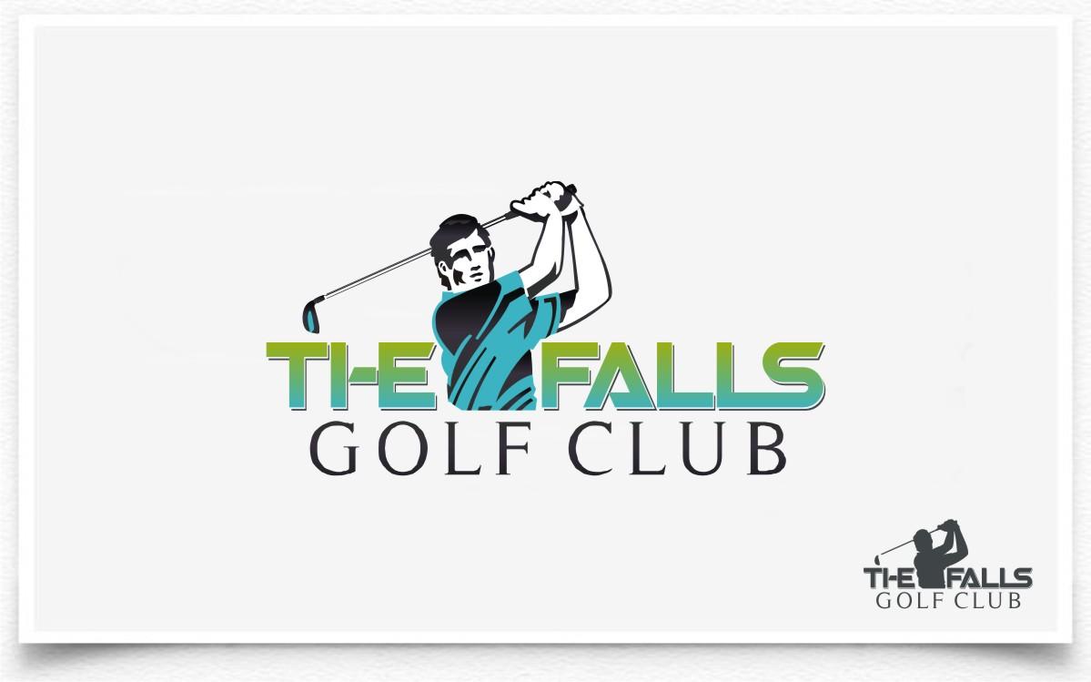 Logo Design by Eric White Origami Associates - Entry No. 122 in the Logo Design Contest The Falls Golf Club Logo Design.