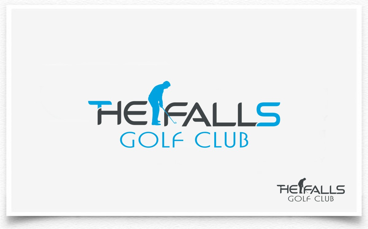 Logo Design by Eric White Origami Associates - Entry No. 123 in the Logo Design Contest The Falls Golf Club Logo Design.
