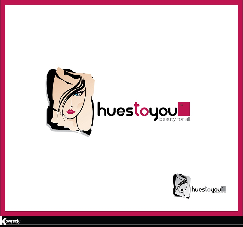 Logo Design by kowreck - Entry No. 3 in the Logo Design Contest Hues To You Logo Design.