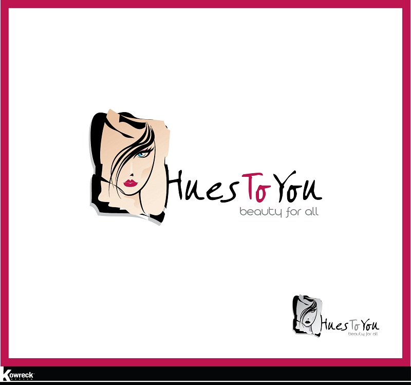 Logo Design by kowreck - Entry No. 4 in the Logo Design Contest Hues To You Logo Design.