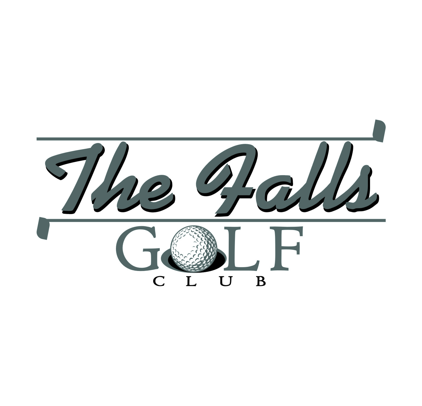 Logo Design by Private User - Entry No. 128 in the Logo Design Contest The Falls Golf Club Logo Design.