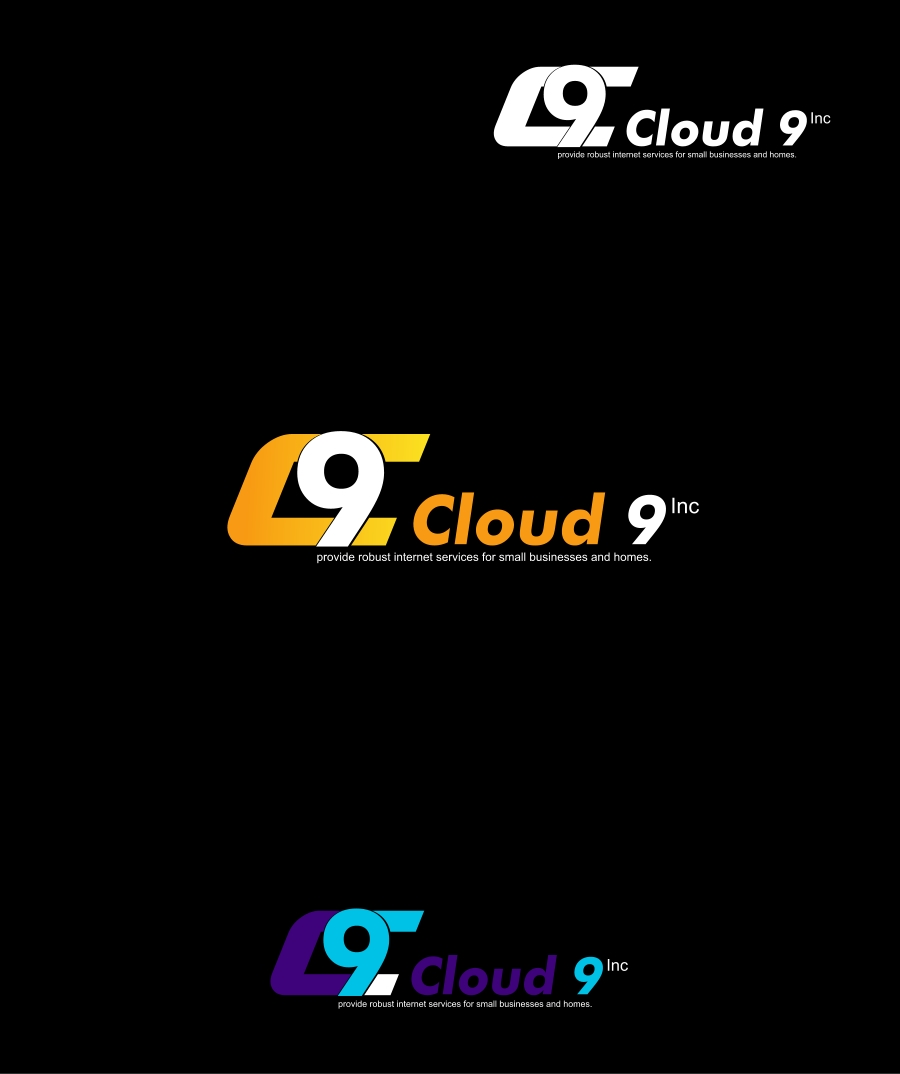 Logo Design by Private User - Entry No. 62 in the Logo Design Contest Unique Logo Design Wanted for Cloud 9 Inc.