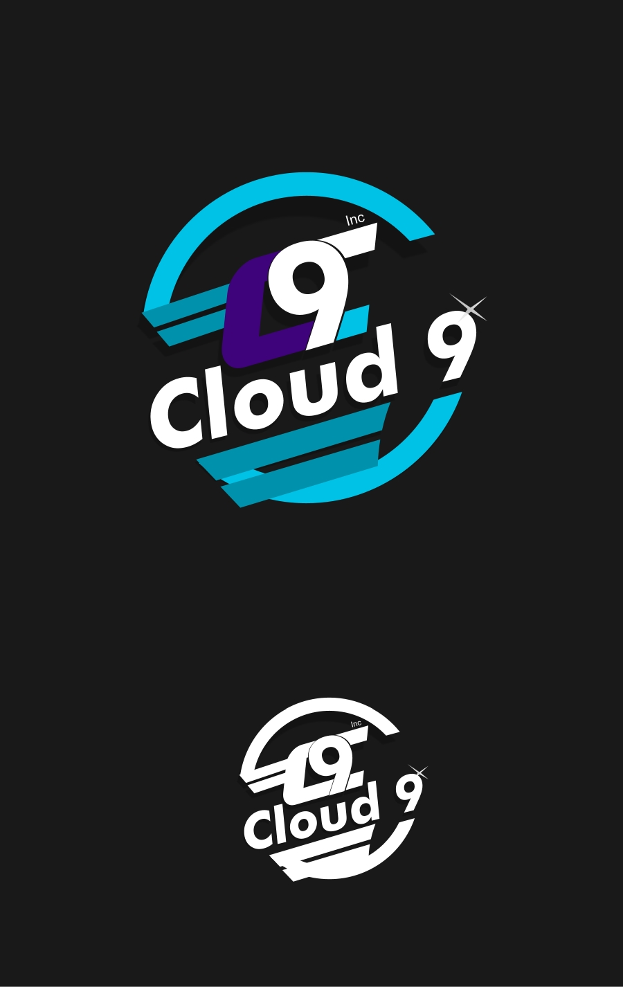 Logo Design by Private User - Entry No. 64 in the Logo Design Contest Unique Logo Design Wanted for Cloud 9 Inc.