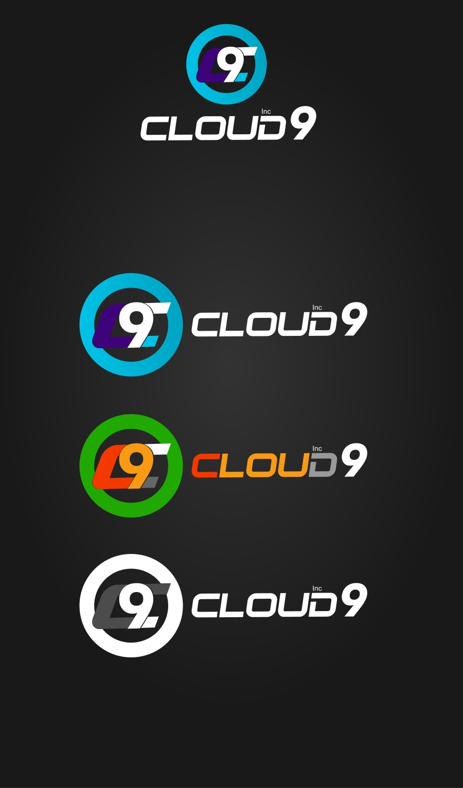 Logo Design by Private User - Entry No. 92 in the Logo Design Contest Unique Logo Design Wanted for Cloud 9 Inc.