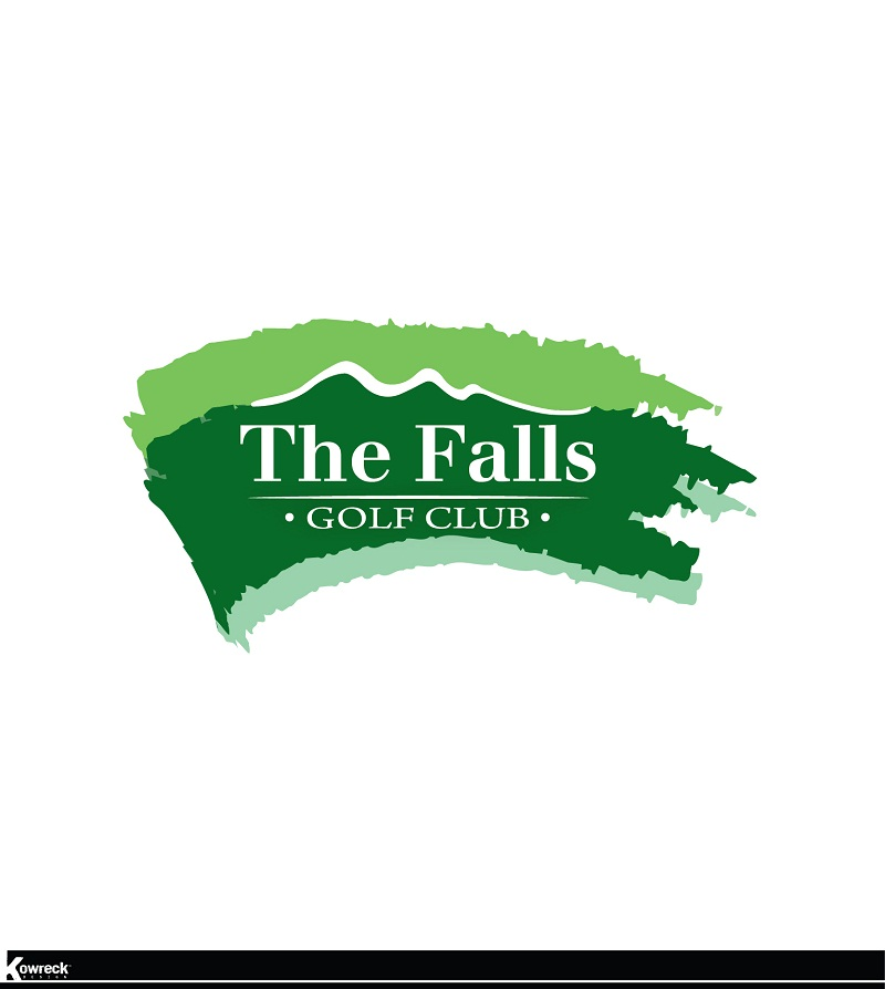Logo Design by kowreck - Entry No. 131 in the Logo Design Contest The Falls Golf Club Logo Design.