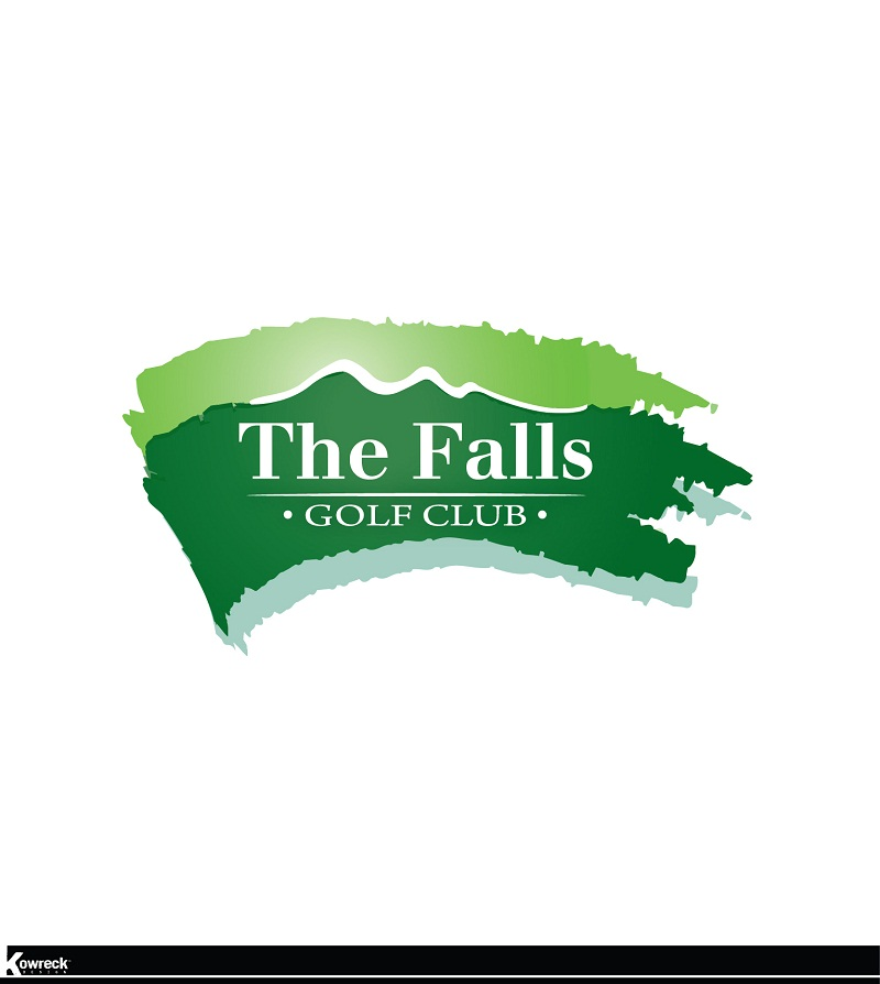 Logo Design by kowreck - Entry No. 135 in the Logo Design Contest The Falls Golf Club Logo Design.