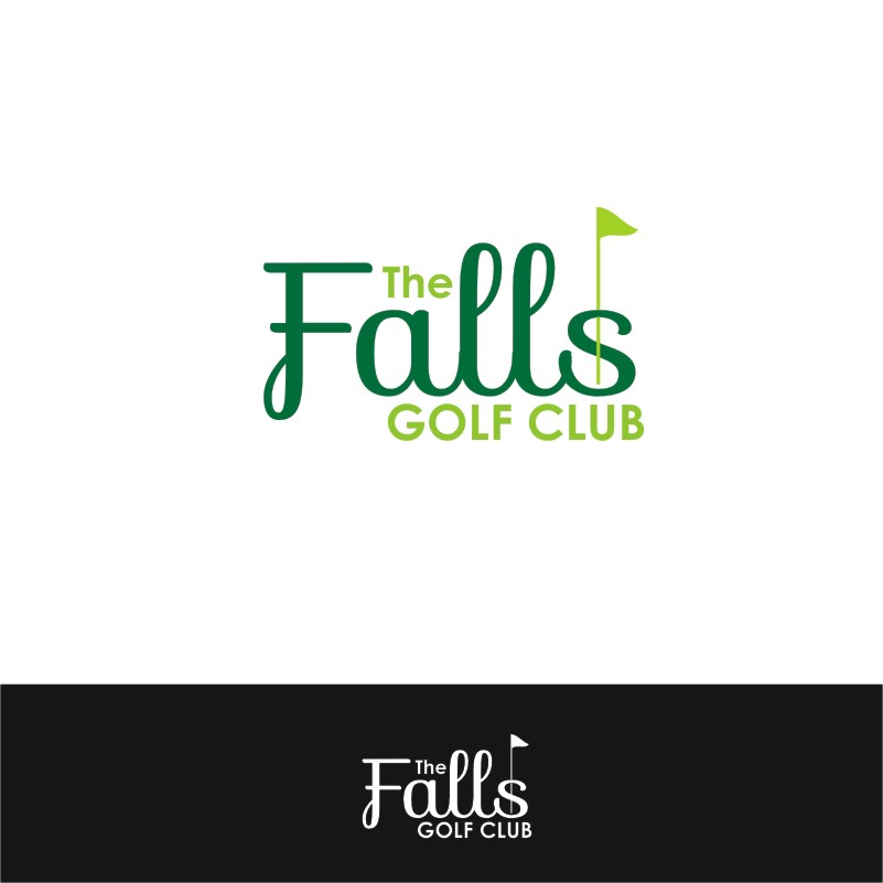 Logo Design by Private User - Entry No. 139 in the Logo Design Contest The Falls Golf Club Logo Design.