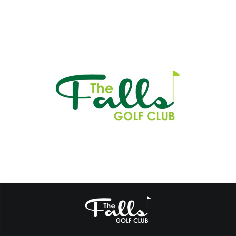 Logo Design by Private User - Entry No. 140 in the Logo Design Contest The Falls Golf Club Logo Design.