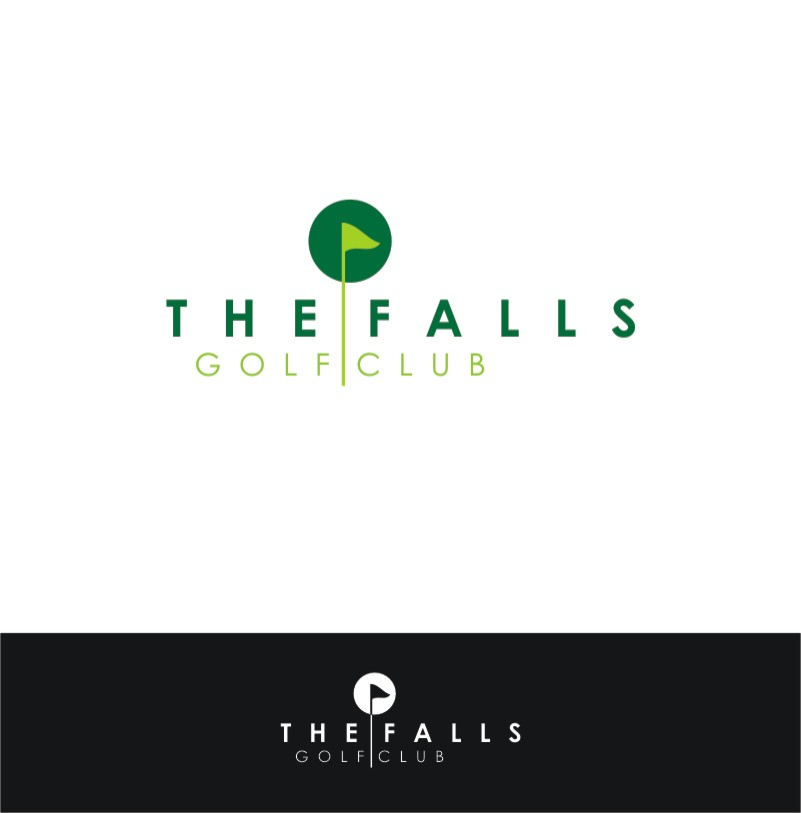 Logo Design by Private User - Entry No. 143 in the Logo Design Contest The Falls Golf Club Logo Design.
