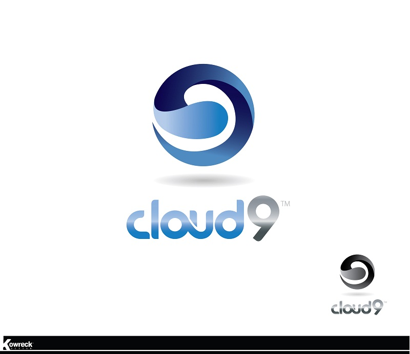 Logo Design by kowreck - Entry No. 99 in the Logo Design Contest Unique Logo Design Wanted for Cloud 9 Inc.