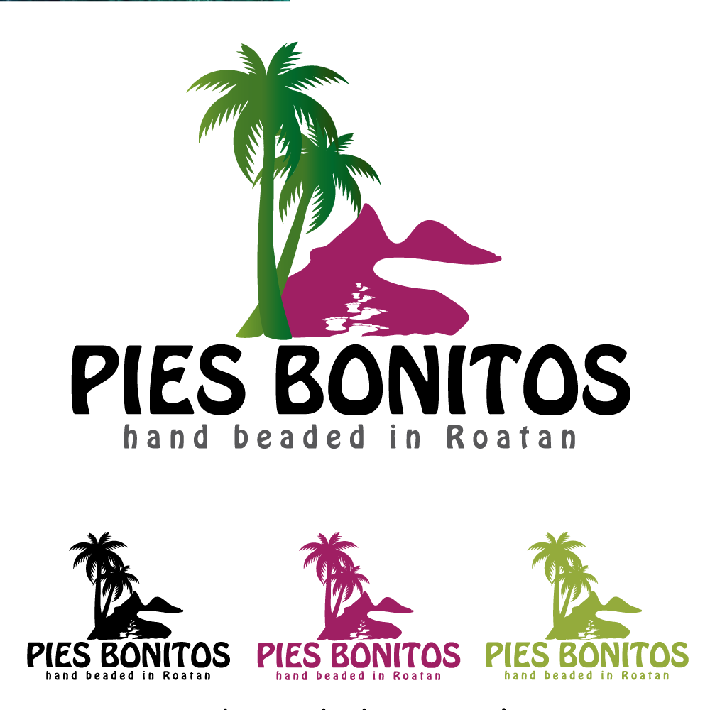 Logo Design by rockin - Entry No. 11 in the Logo Design Contest Unique Logo Design Wanted for Pies Bonitos.