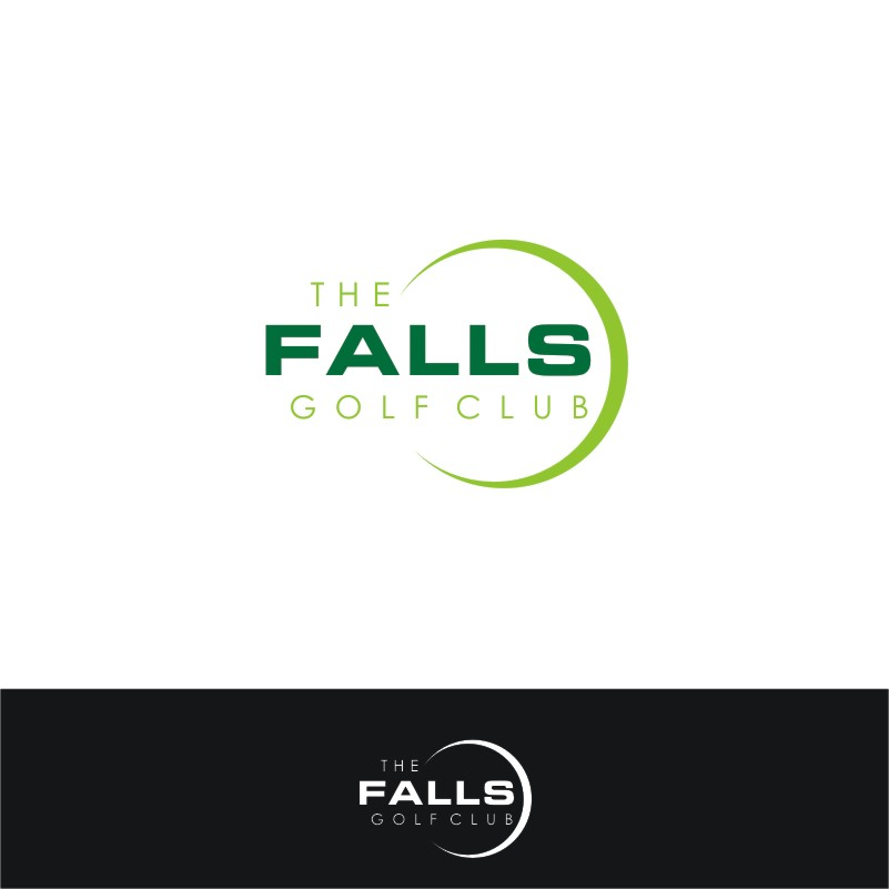Logo Design by Private User - Entry No. 145 in the Logo Design Contest The Falls Golf Club Logo Design.