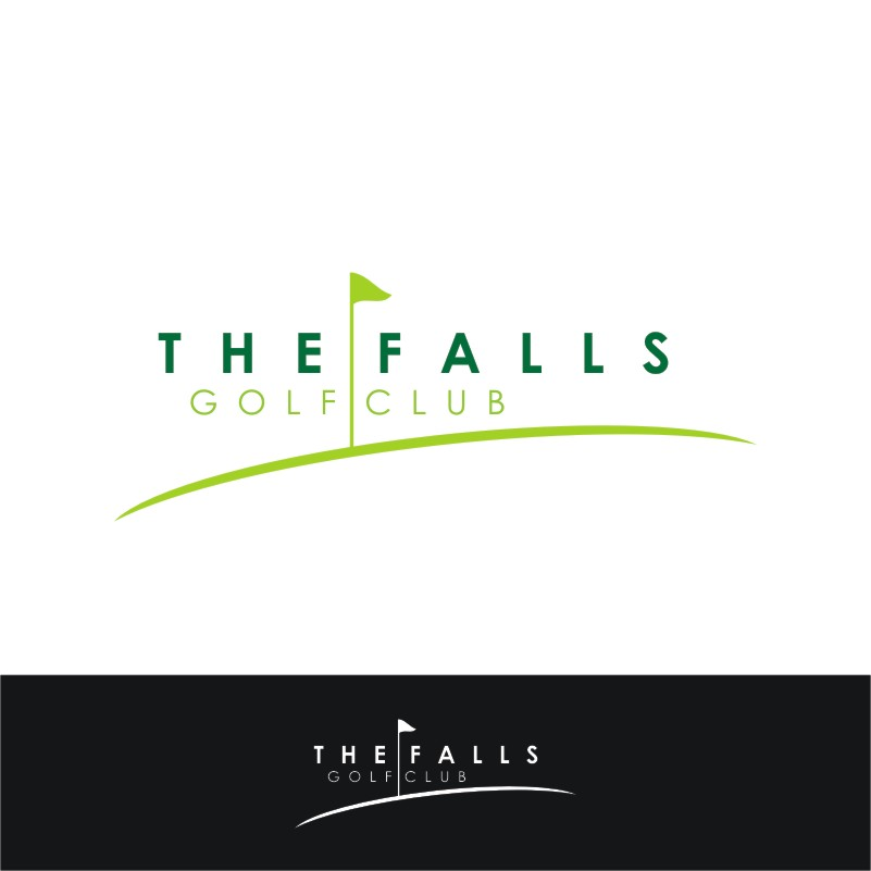 Logo Design by Private User - Entry No. 146 in the Logo Design Contest The Falls Golf Club Logo Design.
