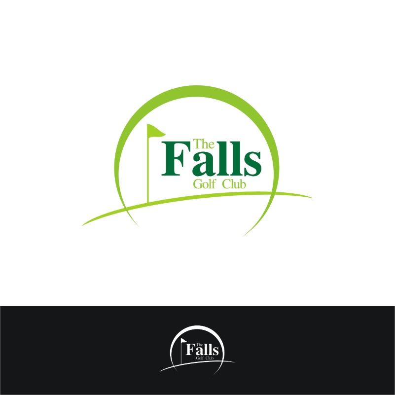 Logo Design by Private User - Entry No. 147 in the Logo Design Contest The Falls Golf Club Logo Design.
