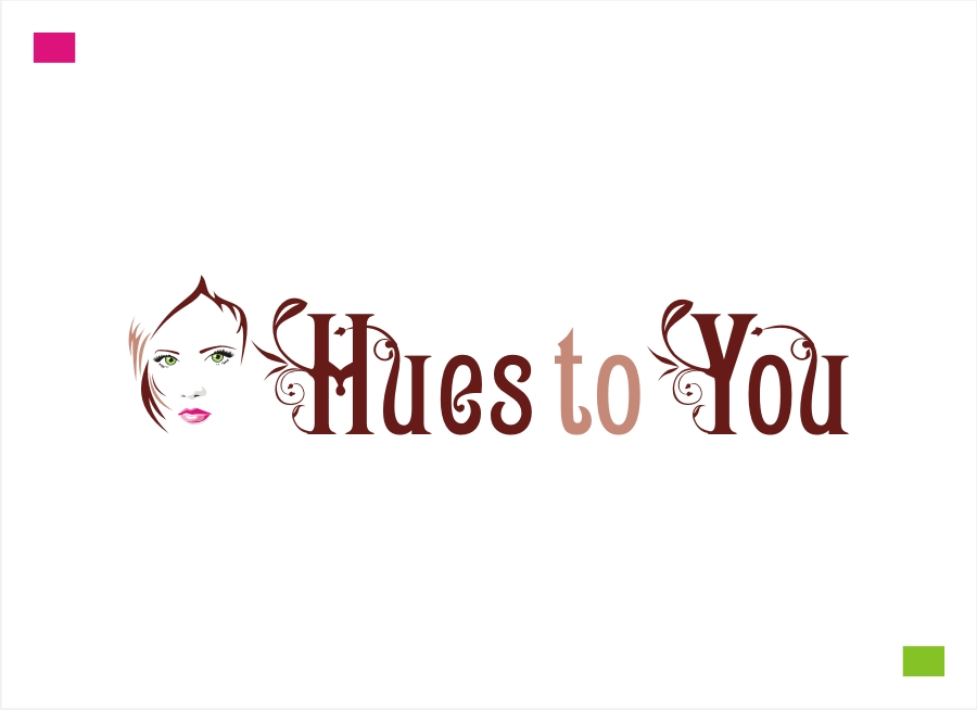 Logo Design by Private User - Entry No. 53 in the Logo Design Contest Hues To You Logo Design.