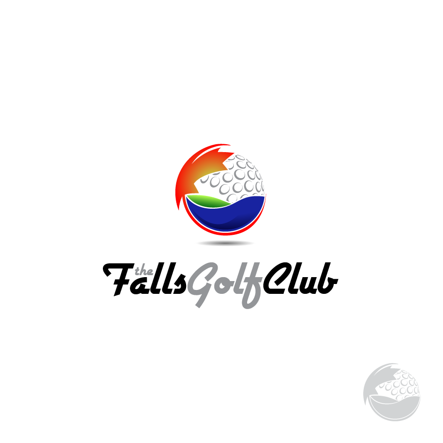 Logo Design by zesthar - Entry No. 148 in the Logo Design Contest The Falls Golf Club Logo Design.