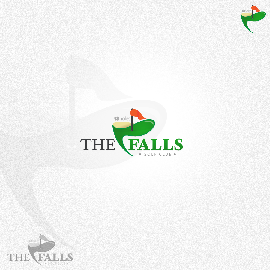 Logo Design by rockpinoy - Entry No. 149 in the Logo Design Contest The Falls Golf Club Logo Design.