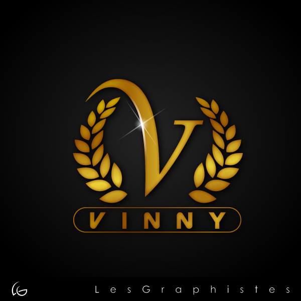 Logo Design by Les-Graphistes - Entry No. 149 in the Logo Design Contest Unique Logo Design Wanted for Vinny.