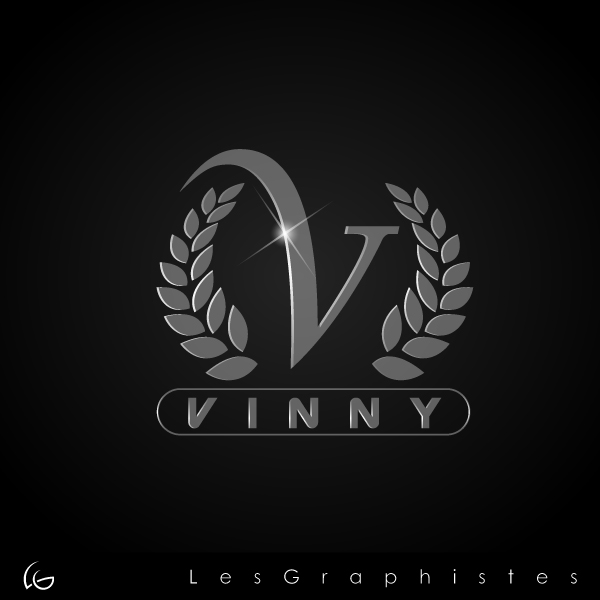 Logo Design by Les-Graphistes - Entry No. 150 in the Logo Design Contest Unique Logo Design Wanted for Vinny.