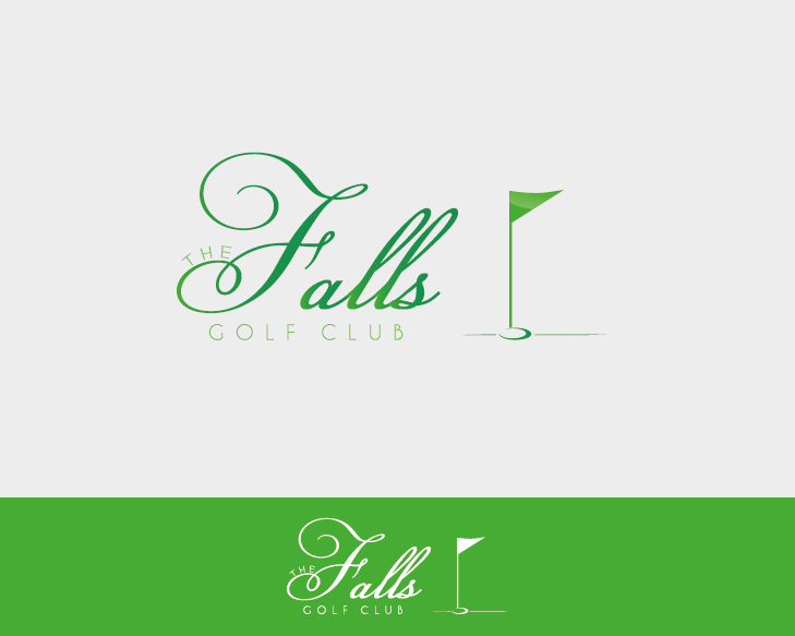 Logo Design by Private User - Entry No. 152 in the Logo Design Contest The Falls Golf Club Logo Design.