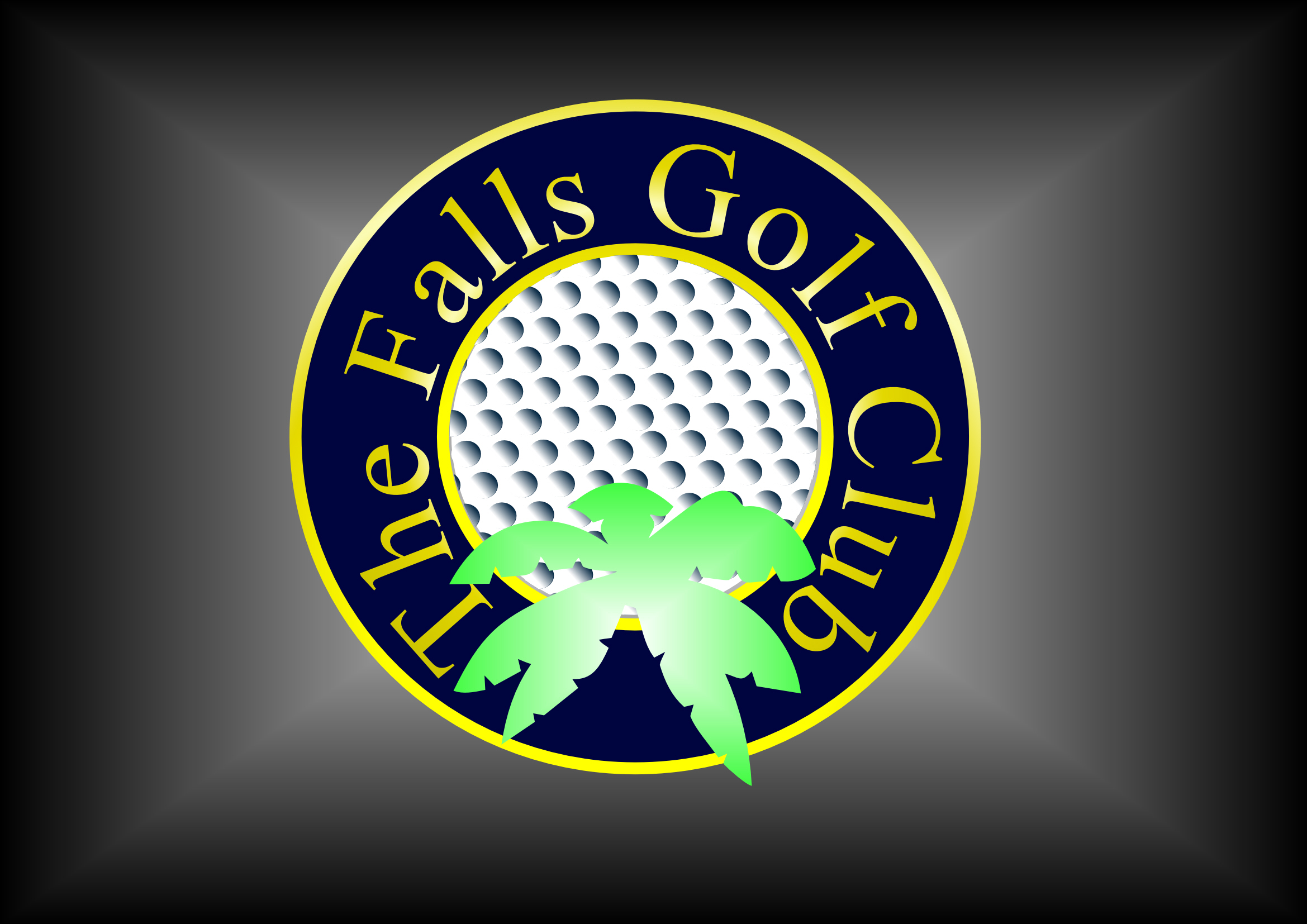 Logo Design by Heri Susanto - Entry No. 153 in the Logo Design Contest The Falls Golf Club Logo Design.