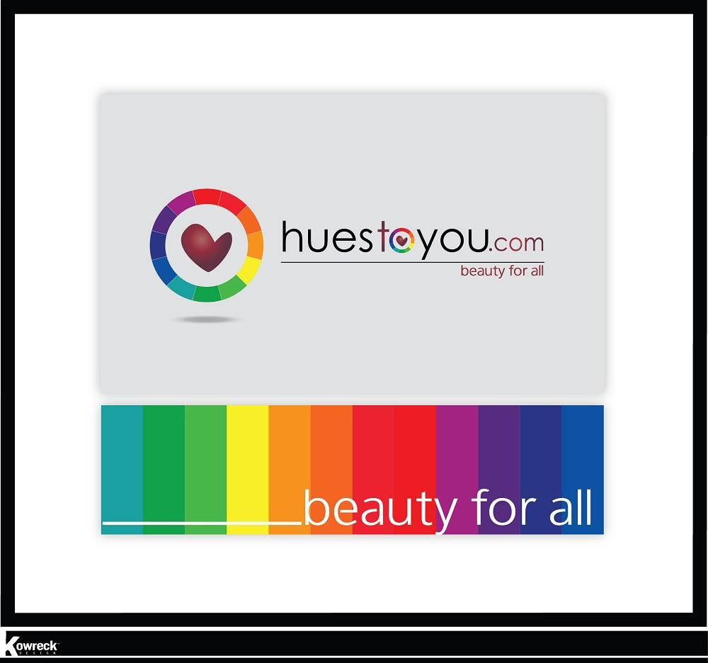 Logo Design by kowreck - Entry No. 68 in the Logo Design Contest Hues To You Logo Design.